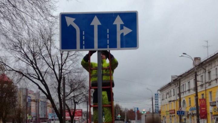 Определились с полосами: смотрим новую схему движения на перекрестке Кирова/Победы