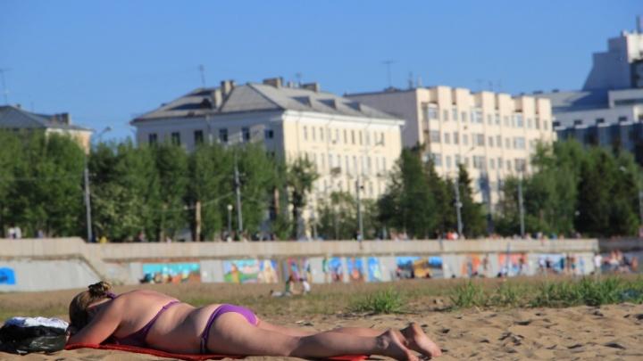 На диких пляжах Архангельска вода не соответствует санитарным нормам