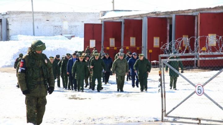 Проверили всё: воинские части Самарской области инспектировала комиссия Минобороны России
