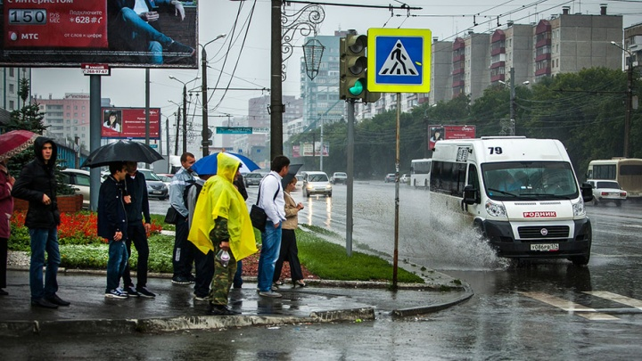Ливни и град: МЧС Челябинской области объявило штормовое предупреждение