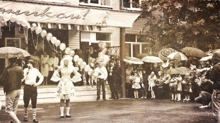 Как праздновали 1 сентября в Тюмени: архивное видео 1923 года и выцветшие снимки из семейных альбомов