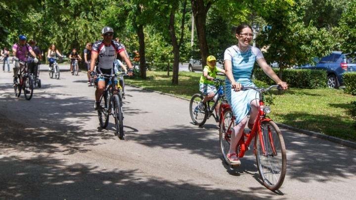 Волгоградцев приглашают на неспешный велопарад по перекрытому центру города