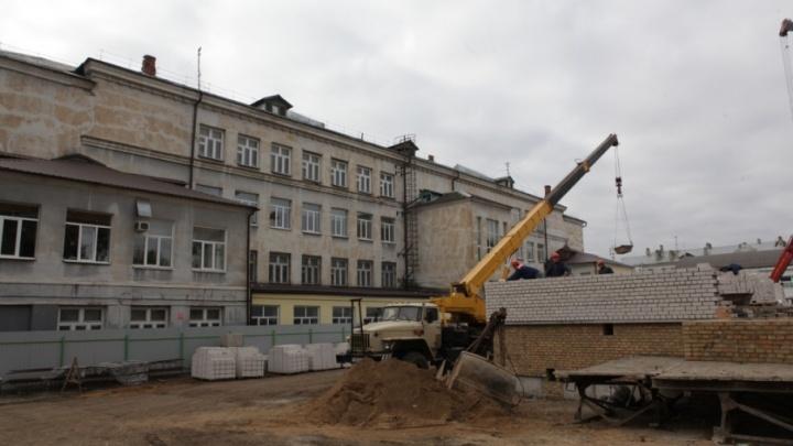 Ярославская школа получила федеральные деньги на пристройку с залом и столовой