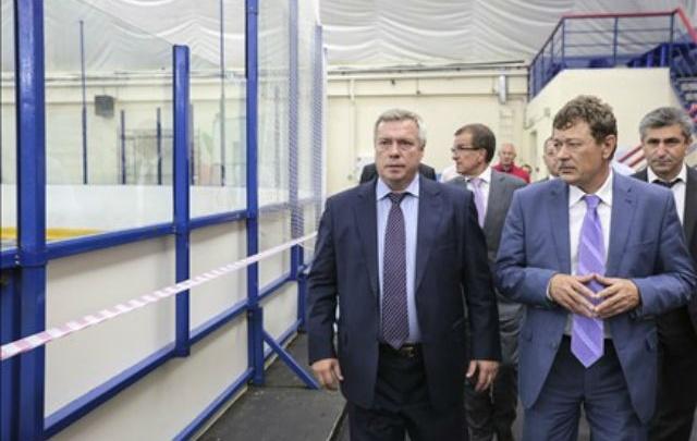 Ледовый дворец в Новочеркасске отремонтируют за 7 млн рублей