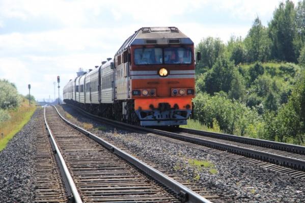 Например, в Котлас поезд должен был прибыть в 11:25