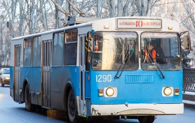 В Волгограде меняется расписание троллейбуса №10