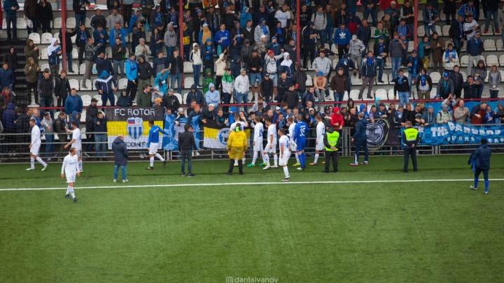 «Ротор-Волгоград» проиграл «Химкам» со счетом 3:0 в первом матче ФНЛ