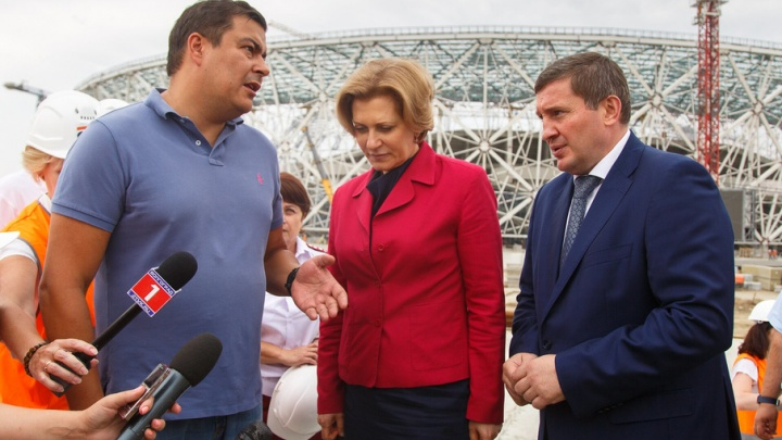 Глава Роспотребнадзора Анна Попова рассказала о рисках «Волгоград Арены»