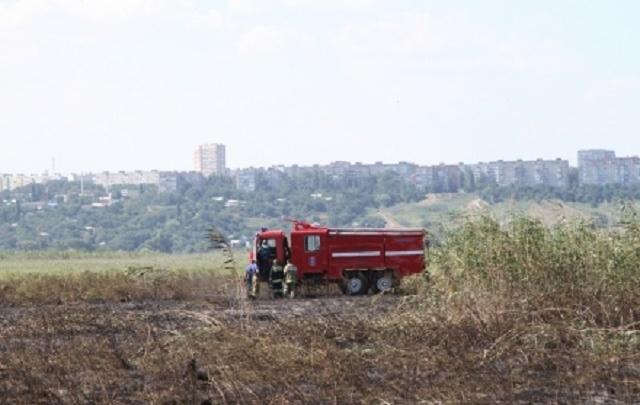Ростовской области угрожают сильные пожары