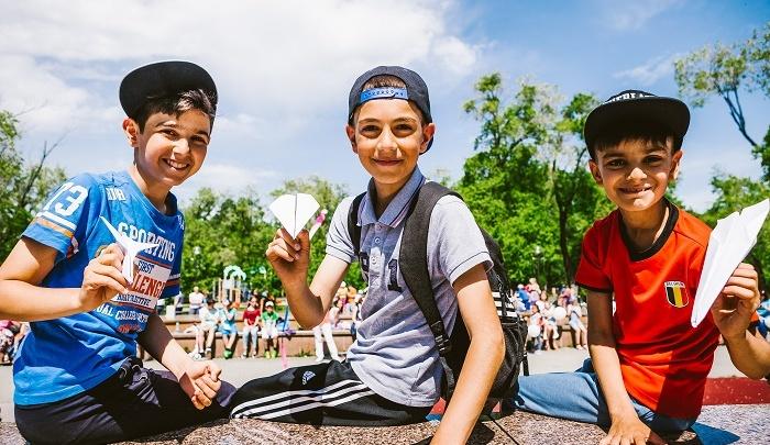 3 июня в сквере Комсомольский состоялся финал конкурса «Самолетик детства»