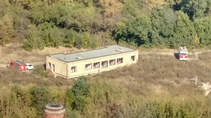 В Ростове потушили пожар, вспыхнувший на территории первомайской рощи