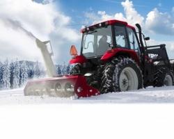 Техника Ростсельмаш поможет выбраться из снега