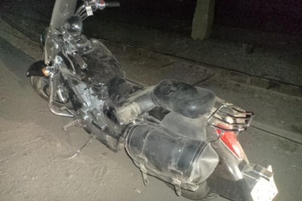 Ранен в аварии был пассажир двухколесника