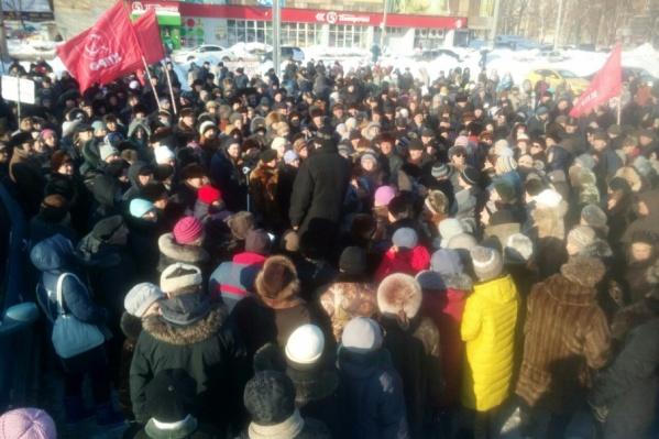 Митингующие соберутся на площади рядом с метро