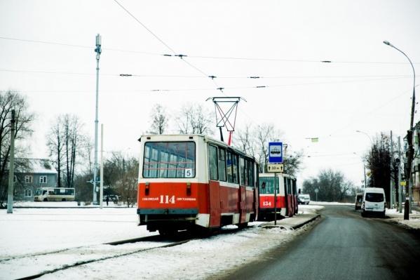 Большинство ярославских трамваев сейчас находятся в залоге у коммерческого банка