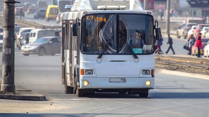 В Самаре хотят объединить автобусные маршруты и подвинуть остановки