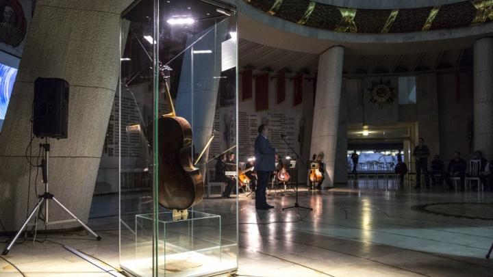 Музею-панораме «Сталинградская битва» передали старинную виолончель-загадку