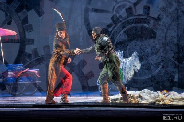 В Оперном театре дают Моцарта под скрежет шестерёнок.