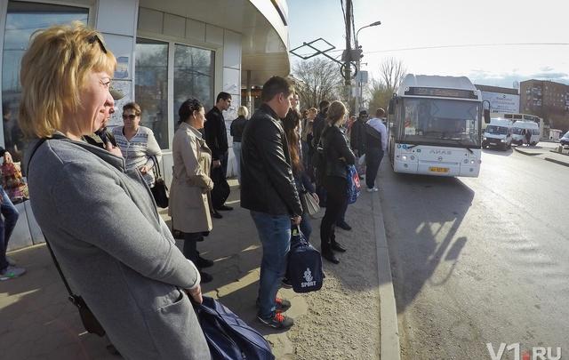 Волгоград: первый понедельник без маршруток