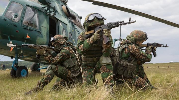 На юге Челябинской области обезвредили «террористов»