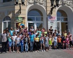 Компания «Амилко» подарила детям праздник
