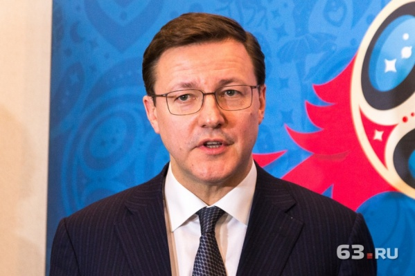 Дмитрий Азаров стал губернатором с приставкой «врио» в сентябре 2017 года