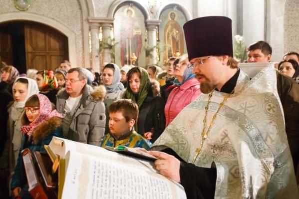 Священники помолятся об избавлении города от огненной геенны