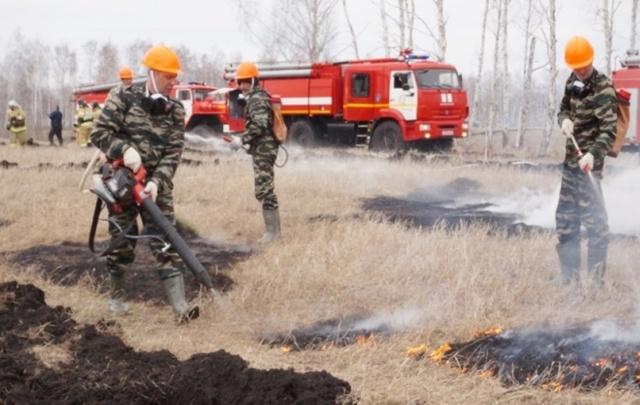 В Челябинской области участились природные пожары