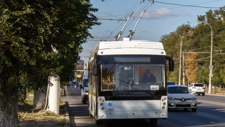Новый троллейбус уже возит пассажиров по Волгограду