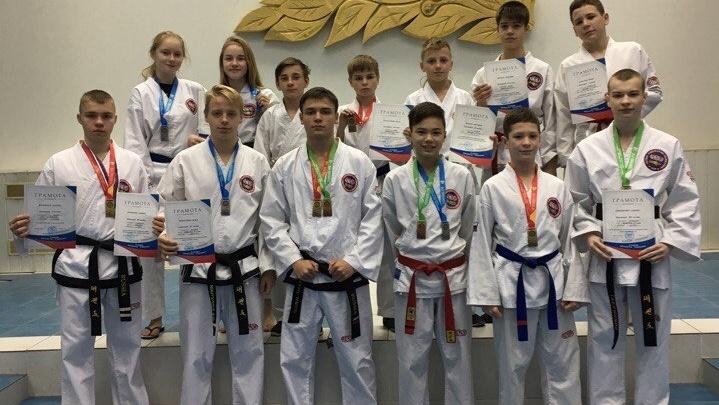 Тхэквондисты Поморья завоевали 19 медалей на трех всероссийских турнирах