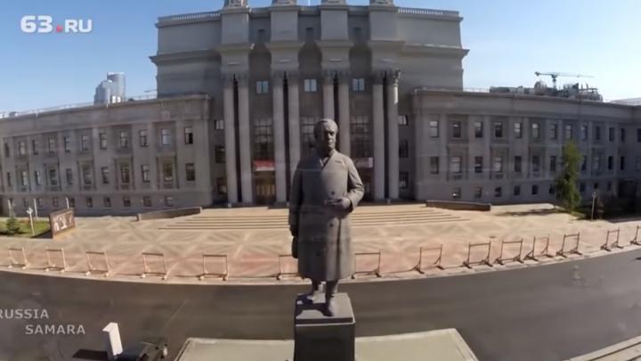 Светодиодный экран на площадь Куйбышева привезут из Китая