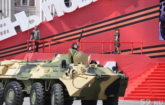 Пермские власти потратят 2 млн рублей на охрану порядка в День Победы