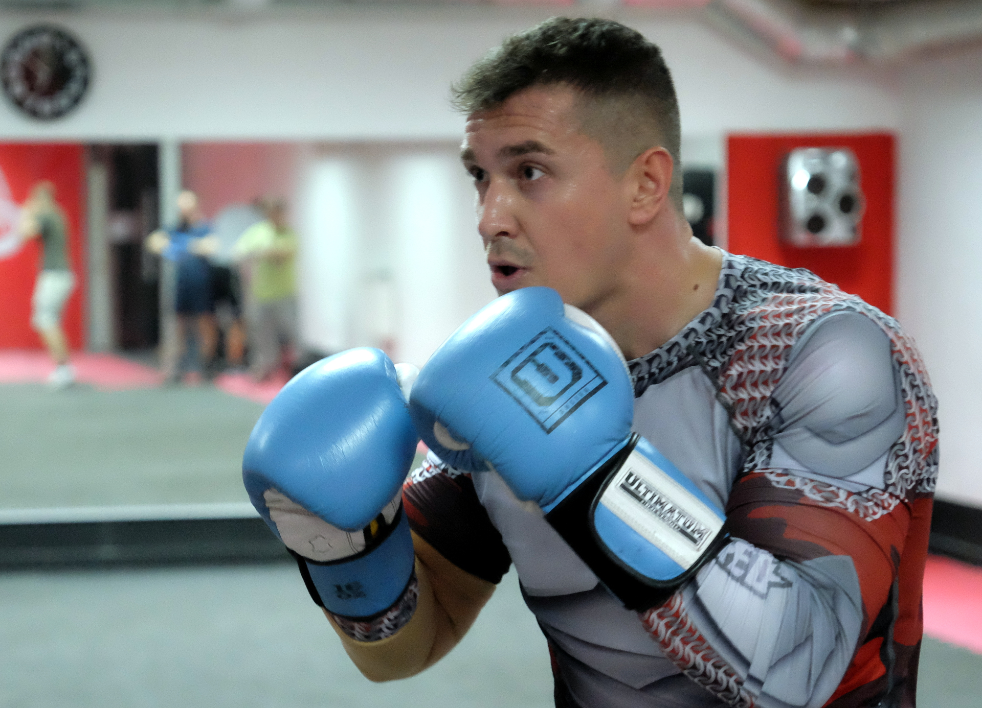 Раньше Роман никогда не занимался боксом