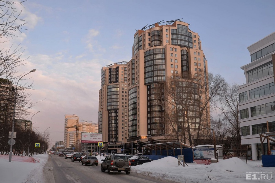 «Звезда» на улице Шейнкмана, 119 — ЖК «Антарес».