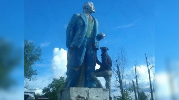 В Самаре продают памятник Ленину за 50 тысяч рублей