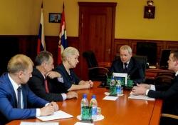 Губернатору представили директора филиала ОАО «Россельхозбанк»