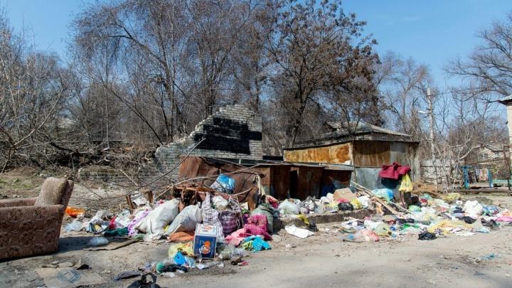 В Кировском районе вновь объявилась «оппозиционная» свалка Навального