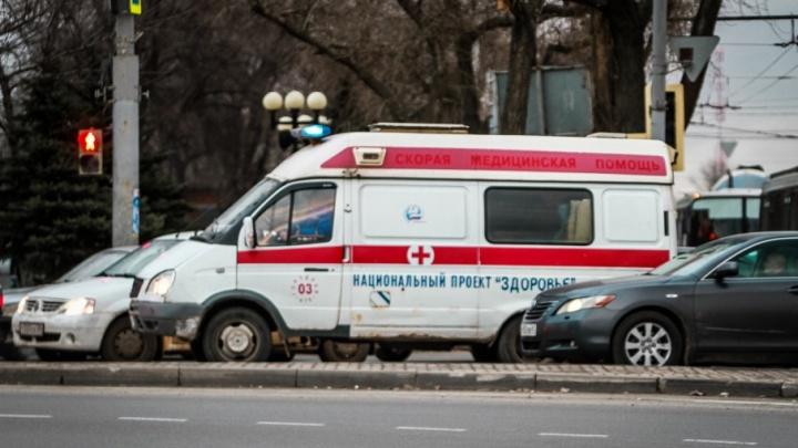 При столкновении двух автомобилей в Азовском районе пострадал четырехлетний ребенок
