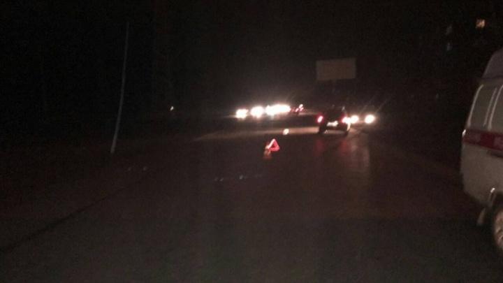 На Красноглинском шоссе «девяносто девятая» насмерть сбила пешехода