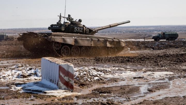 Лучшими танкистами ЮВО стал на полигоне под Волгоградом экипаж из Северной Осетии