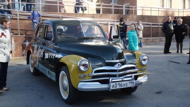 В Тюмени прошел «победный» автопробег