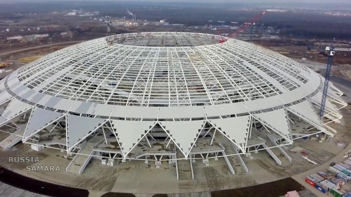 «Нам удалось убедить правительство»: на строительство «Самара-Арены» добавили 1,8 млрд рублей
