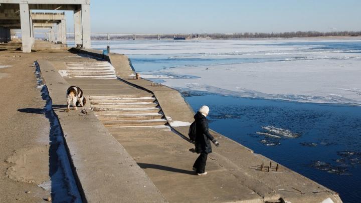 Ледоход на Волге стал причиной массовых галлюцинаций в Волгограде