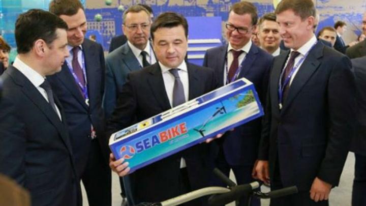 В Ярославле изобрели подводный велосипед