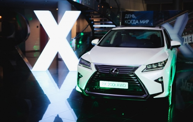 Lexus RX: технологическое превосходство