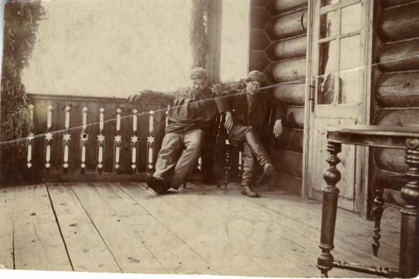 Сыромолотов и Шваб. Пышминско-Ключевской завод, 1902 г.