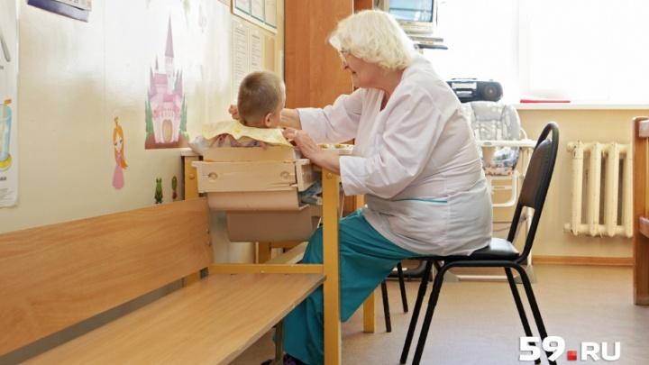 В Пермском крае впервые за два года ребенок заболел корью