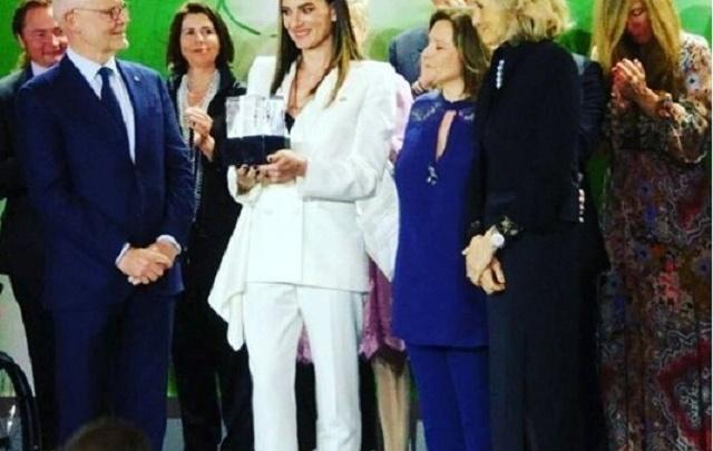 Волгоградку Елену Исинбаеву назвали женщиной года в Монте-Карло