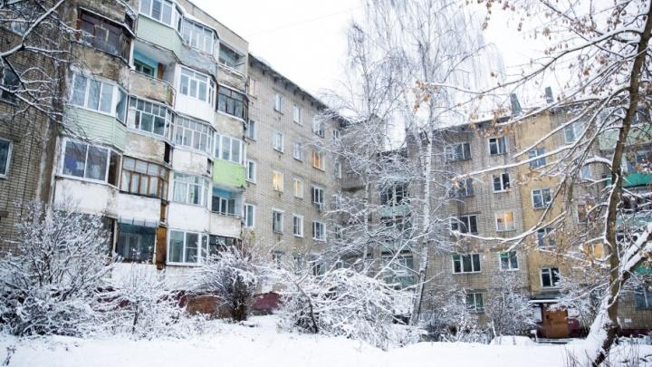Мэрия назвала снег во дворах проблемой жителей
