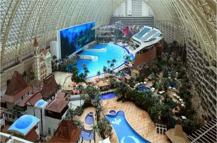 Под Челябинском намерены создать курортный город под куполом